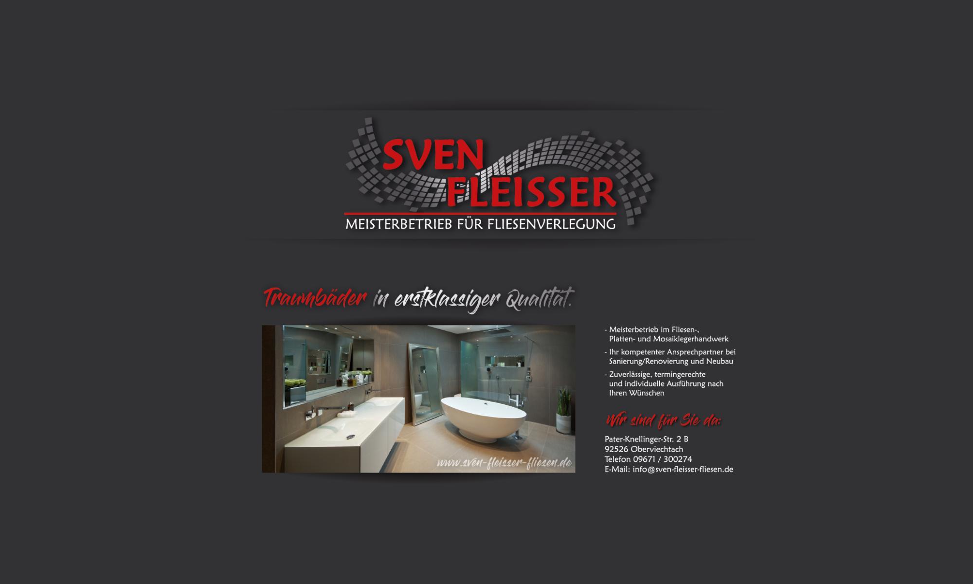 Sven Fleißer - www.sven-fleisser-fliesen.de